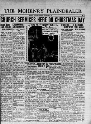 McHenry Plaindealer (McHenry, IL), 19 Dec 1935