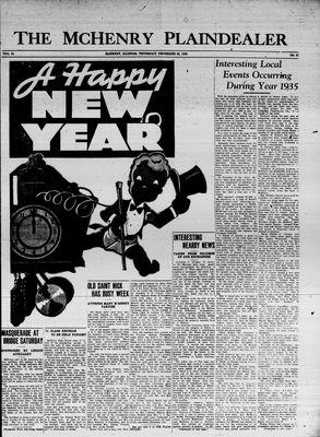 McHenry Plaindealer (McHenry, IL), 26 Dec 1935