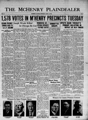 McHenry Plaindealer (McHenry, IL), 16 Apr 1936
