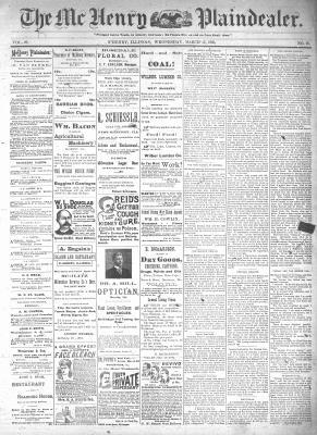 McHenry Plaindealer (McHenry, IL), 13 Mar 1895