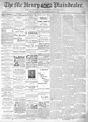 McHenry Plaindealer (McHenry, IL), 20 Mar 1895