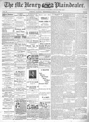 McHenry Plaindealer (McHenry, IL), 27 Mar 1895
