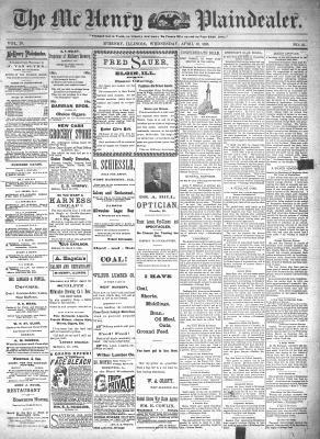 McHenry Plaindealer (McHenry, IL), 10 Apr 1895