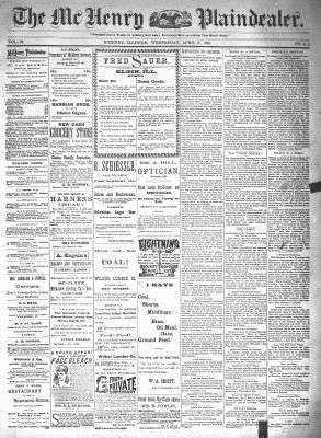 McHenry Plaindealer (McHenry, IL), 17 Apr 1895