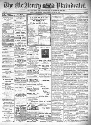 McHenry Plaindealer (McHenry, IL), 24 Apr 1895