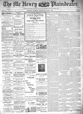 McHenry Plaindealer (McHenry, IL), 1 May 1895