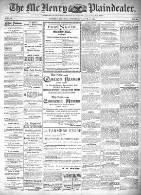 McHenry Plaindealer (McHenry, IL), 12 Jun 1895