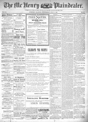 McHenry Plaindealer (McHenry, IL), 3 Jul 1895