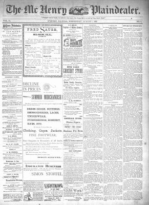 McHenry Plaindealer (McHenry, IL), 7 Aug 1895