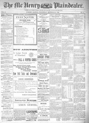 McHenry Plaindealer (McHenry, IL), 25 Sep 1895