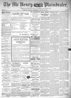 McHenry Plaindealer (McHenry, IL), 23 Oct 1895