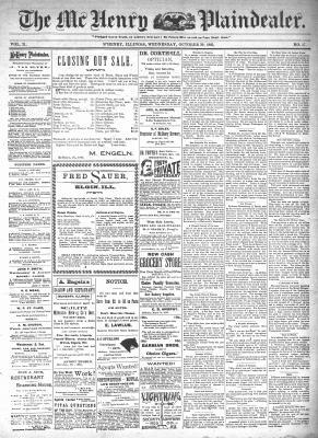McHenry Plaindealer (McHenry, IL), 30 Oct 1895
