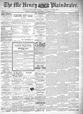 McHenry Plaindealer (McHenry, IL), 6 Nov 1895