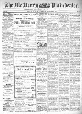 McHenry Plaindealer (McHenry, IL), 13 Nov 1895