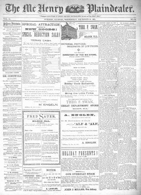 McHenry Plaindealer (McHenry, IL), 18 Dec 1895