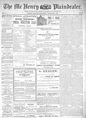 McHenry Plaindealer (McHenry, IL), 25 Dec 1895