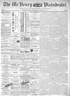 McHenry Plaindealer (McHenry, IL), 29 Jan 1896