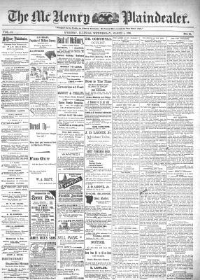 McHenry Plaindealer (McHenry, IL), 4 Mar 1896