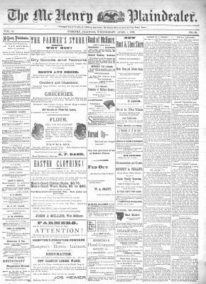 McHenry Plaindealer (McHenry, IL), 1 Apr 1896