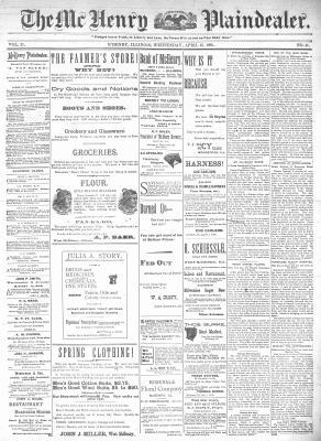 McHenry Plaindealer (McHenry, IL), 15 Apr 1896