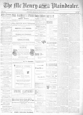 McHenry Plaindealer (McHenry, IL), 29 Apr 1896