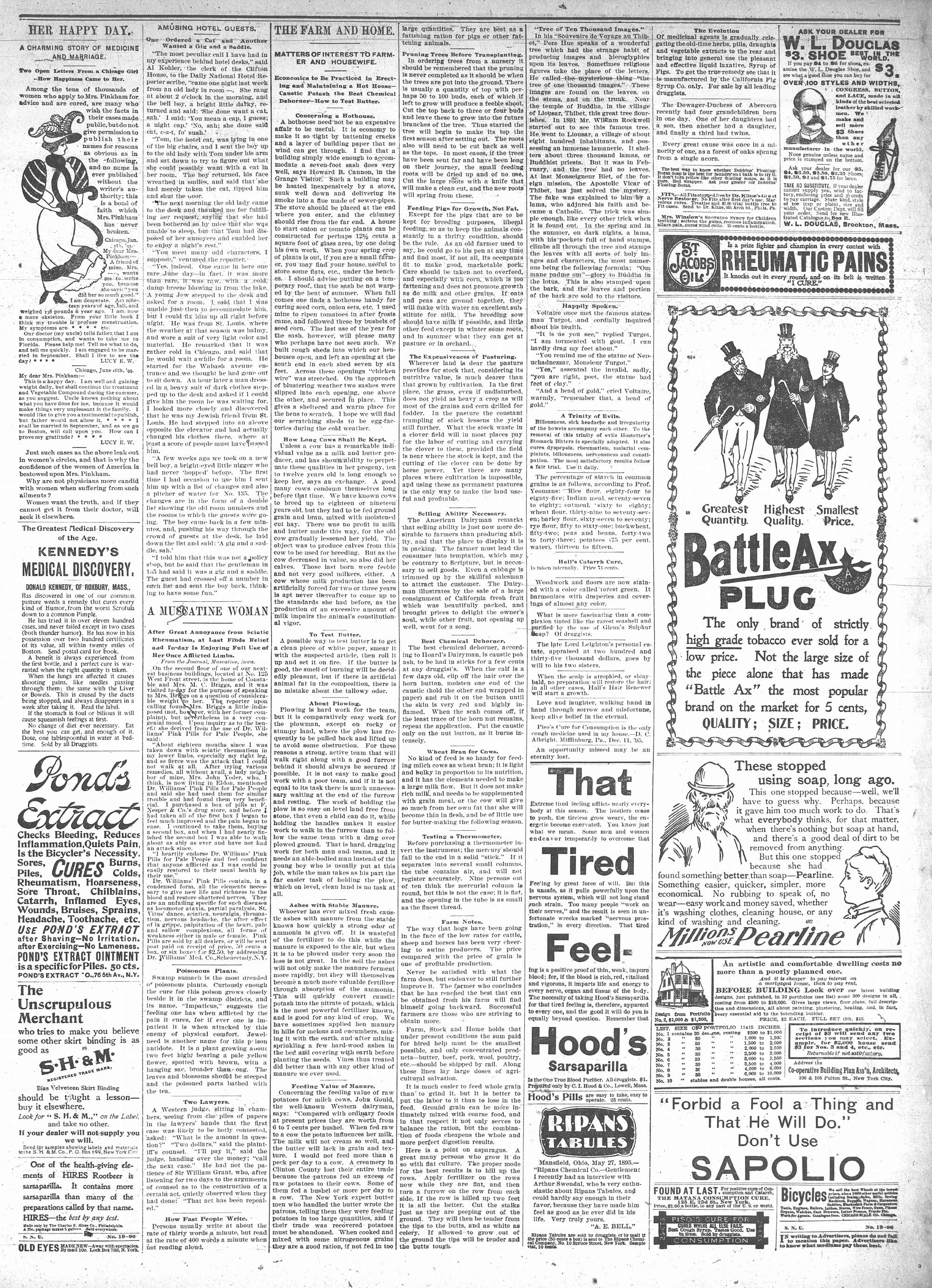McHenry Plaindealer (McHenry, IL), 6 May 1896