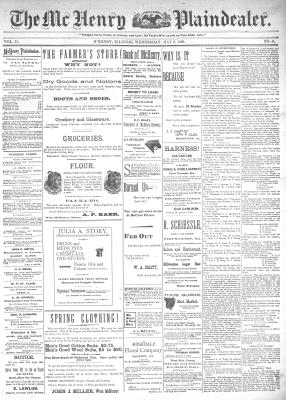 McHenry Plaindealer (McHenry, IL), 6 May 1896