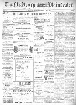 McHenry Plaindealer (McHenry, IL), 20 May 1896
