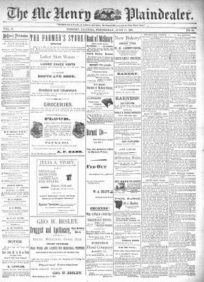 McHenry Plaindealer (McHenry, IL), 17 Jun 1896