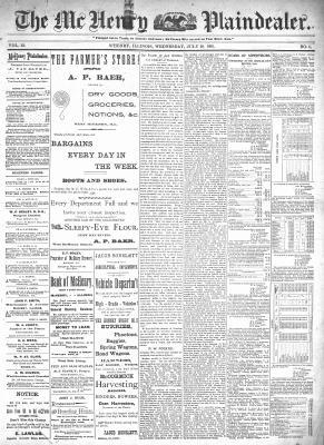 McHenry Plaindealer (McHenry, IL), 29 Jul 1896