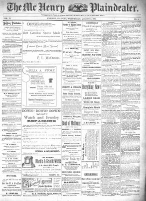 McHenry Plaindealer (McHenry, IL), 5 Aug 1896
