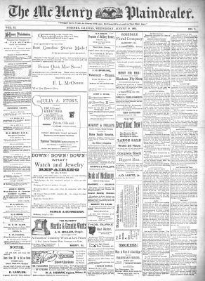 McHenry Plaindealer (McHenry, IL), 19 Aug 1896