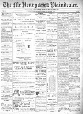 McHenry Plaindealer (McHenry, IL), 26 Aug 1896