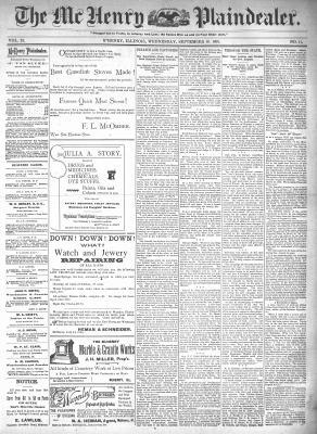 McHenry Plaindealer (McHenry, IL), 16 Sep 1896