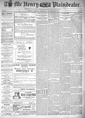 McHenry Plaindealer (McHenry, IL), 30 Sep 1896