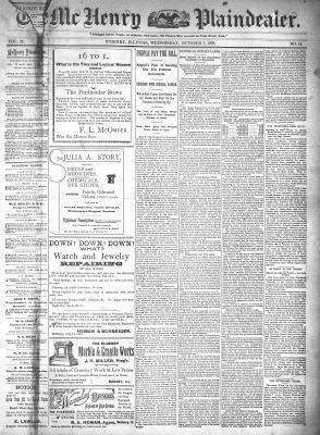 McHenry Plaindealer (McHenry, IL), 7 Oct 1896