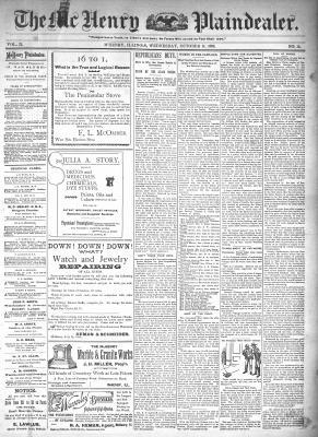 McHenry Plaindealer (McHenry, IL), 14 Oct 1896