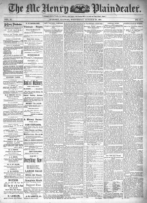 McHenry Plaindealer (McHenry, IL), 28 Oct 1896