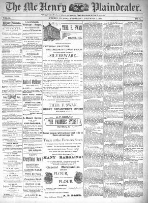 McHenry Plaindealer (McHenry, IL), 2 Dec 1896