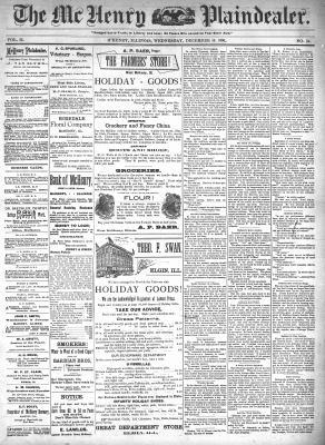 McHenry Plaindealer (McHenry, IL), 16 Dec 1896
