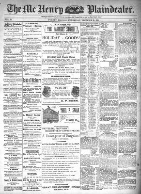 McHenry Plaindealer (McHenry, IL), 30 Dec 1896