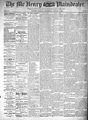 McHenry Plaindealer (McHenry, IL), 27 Jan 1897