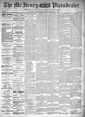 McHenry Plaindealer (McHenry, IL), 3 Feb 1897