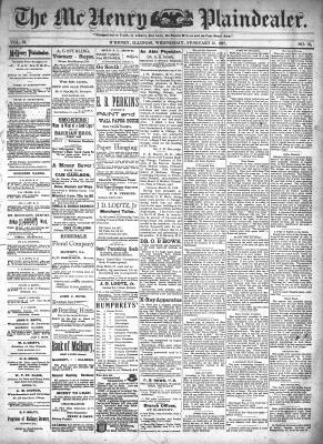 McHenry Plaindealer (McHenry, IL), 10 Feb 1897