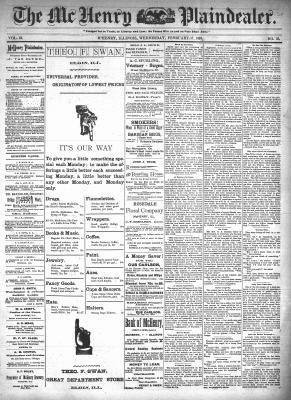 McHenry Plaindealer (McHenry, IL), 17 Feb 1897