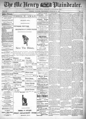 McHenry Plaindealer (McHenry, IL), 24 Feb 1897