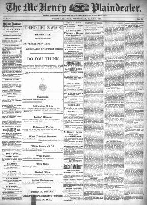 McHenry Plaindealer (McHenry, IL), 3 Mar 1897