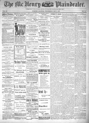 McHenry Plaindealer (McHenry, IL), 5 May 1897
