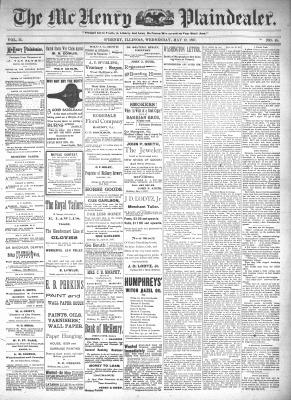 McHenry Plaindealer (McHenry, IL), 12 May 1897