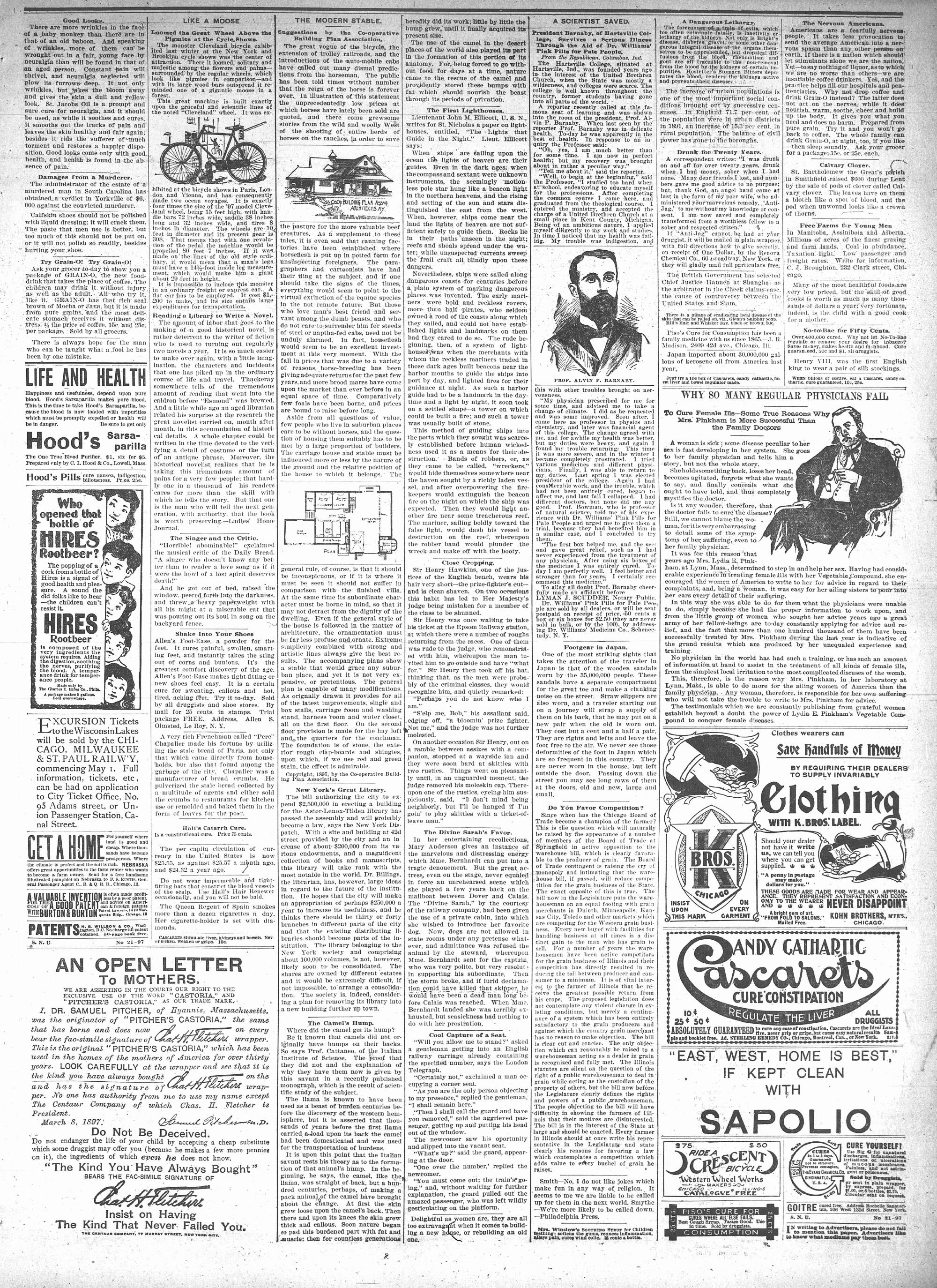 McHenry Plaindealer (McHenry, IL), 19 May 1897
